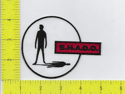 UFO British TV Series: S.H.A.D.O. Logo Patch
