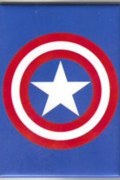 Marvel Comics: Capt. America Shield Logo