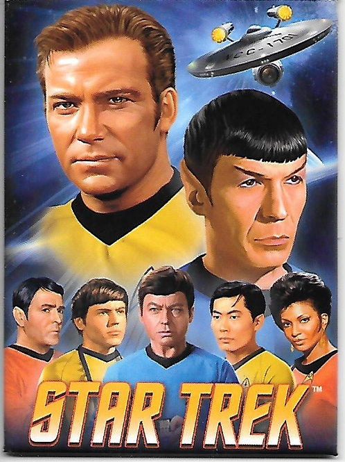 Star Trek: The Original series, The Main Cast