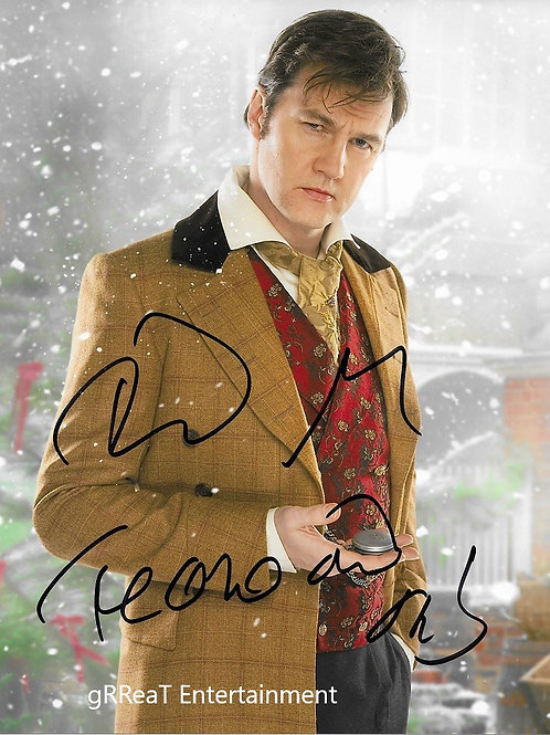 David Morrisey autographed 8 in x 10 in photo