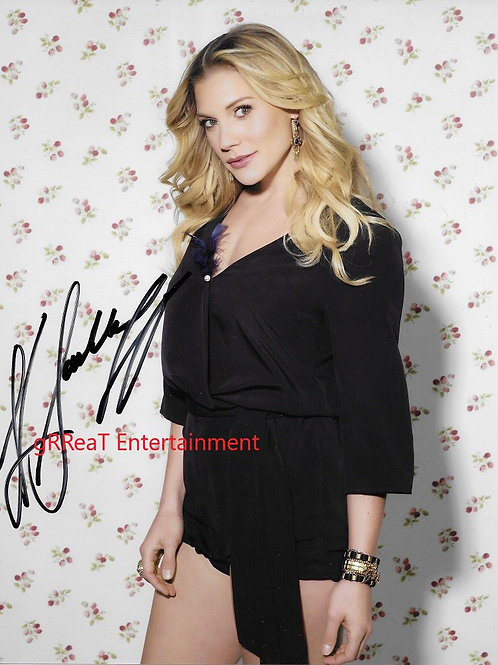 Katee Sackhoff autographed 8 in x 10 in photo