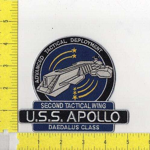 Stargate SG-1: Atlantis U.S.S.Apollo Ship Logo