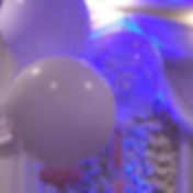 Balloon decorations for party celebrations