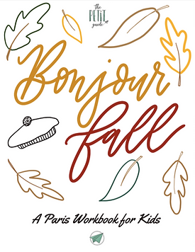 Pais in Fall Workbook by The Petit Guide