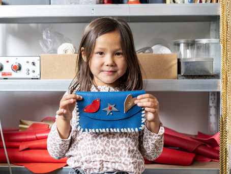 Make a Custom Purse with Your Kids in an Authentic Parisian Leather Working Shop!