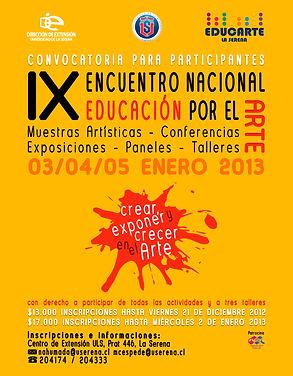 encuentro nacional educacion por el arte