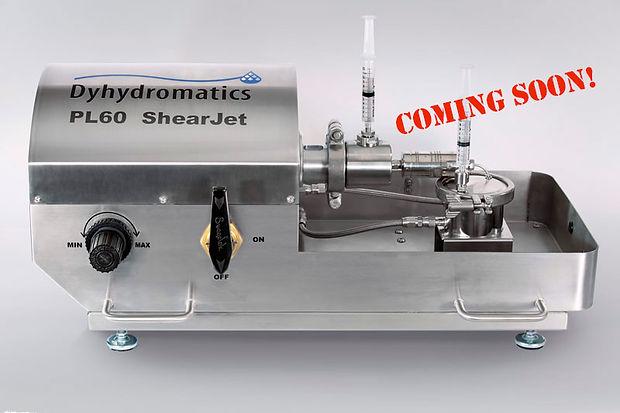 Dyhydromatics High Pressure HomogenizerPL60