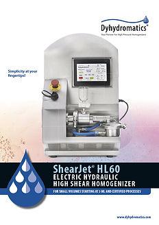 High Pressure Homogenizer electric hydraulic
