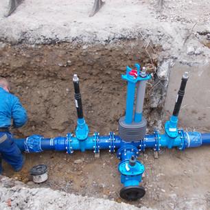 Gas- und Wasserversorgung