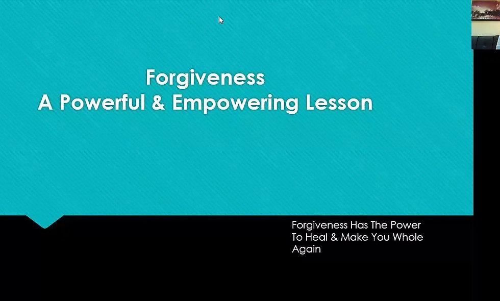 Forgiveness Program