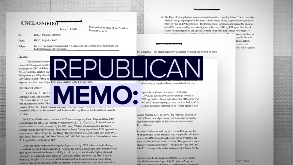 Republican & Democratic Memos