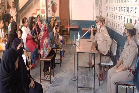 महिलाओं बालिकाओं की सुरक्षा व सम्मान अपराधों के रोकथाम लिए पुलिस का मिशन शक्ति अभियान