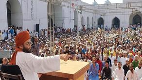 पैगम्बरे इस्लाम हजरत मोहम्मद साहब के यौम-ए-पैदाईश पर अकीदत से मनाया जश्ने मिलाद