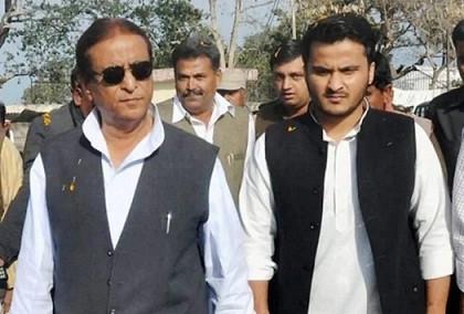 सांसद आजम खान भारी सुरक्षा के बीच बेटे अब्दुल्ला समेत सीतापुर जेल किए गए शिफ्ट