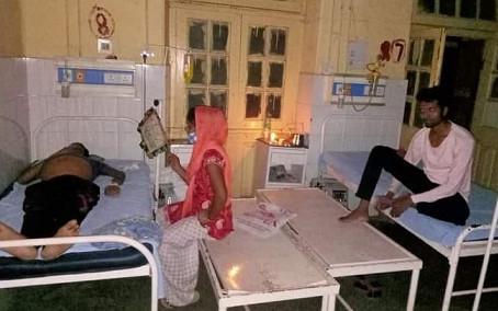 बिजली की किल्लत से अस्पताल में हाहाकार जनरेटर की सुविधा से मरीज़ वंचित