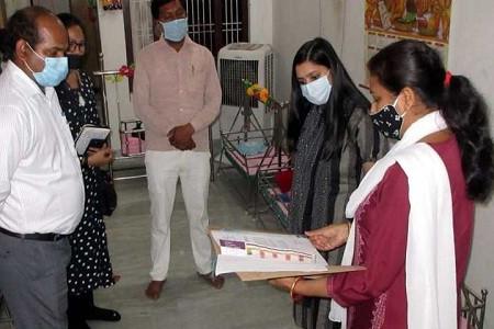औचक निरीक्षण, डीएम ने निर्देश दिए बच्चों को उपलब्ध कराई जाए बेहतर सुविधाएं