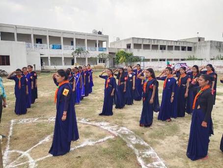 हिंदुस्तान स्काउट एंड़ गाइड द्वारा दिये गये प्रशिक्षण शिविर को हर किसी ने सराहा