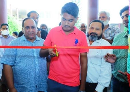 आसिम सिद्दीकी मैमोरियल डिग्री कालिज में नवनिर्मित कक्ष का उदघाटन किया गया