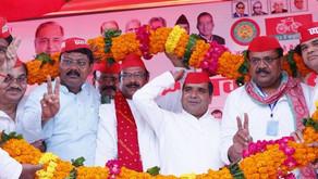 सपा के मंडल स्तरीय सम्मेलन में भाजपा पर बरसे पूर्व मंत्री, बोले- हो रहा व्यापारियों का उत्पीड़न