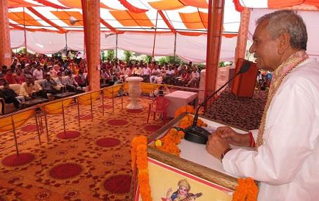 प्रभारी मंत्री लक्ष्मी नारायण चौधरी ने कहा, भाजपा ने प्रदेश में विकास से एक नया आयाम दिया