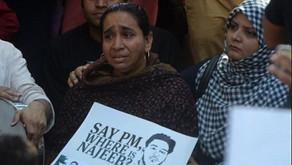 दिल्ली के जेएनयू से लापता छात्र नजीब की मां बोली,  मुझे अब भी लगता है कि वह जिंदा है'