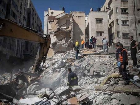 इज़राइल का नहीं थम रहा आतंक, गाजा में अस्पतालों पर हमला कई इमारतें जमींदोज