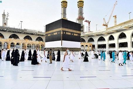 Hajj 2021: यौमे अराफात का दिन, सख्त नियमों के बीच हज की अदाएगी कर रहे हुज्जाज