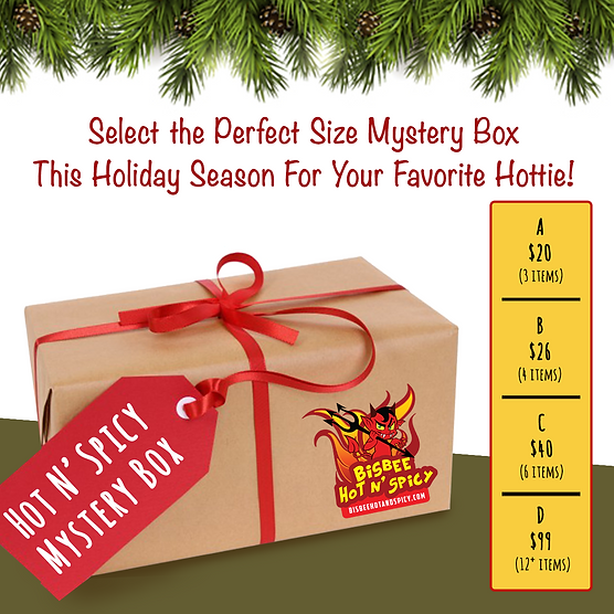 Bisbee Hot N' Spicy Holiday Mystery Box