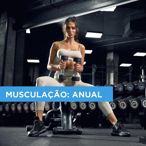 PLANO ANUAL DE MUSCULAÇÃO