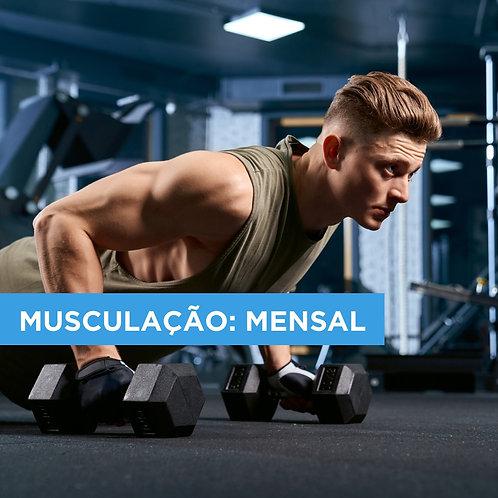 PLANO MENSAL DE MUSCULAÇÃO