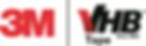 3M VHB Brand lockup - horizontal CMYK -