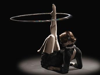 Classy hula hooping