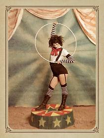 Vintage circus Voodoo Vixen