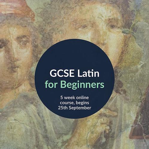 GCSE Latin for Beginners