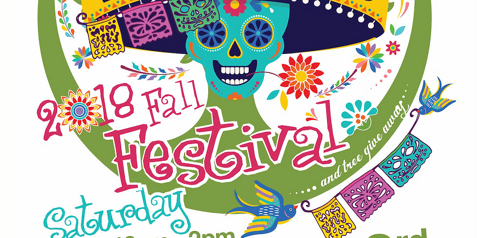 Tree Giveaway at EAD's Dia de los Muertos Fall Festival