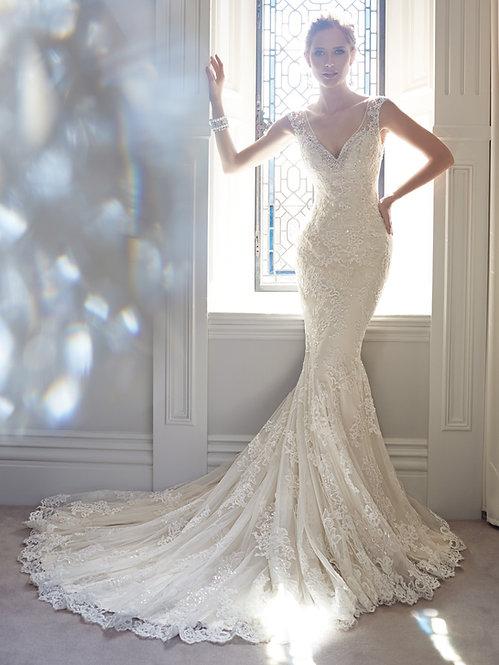 Vestido de novia Corte Sirena Alquiler Nuevo