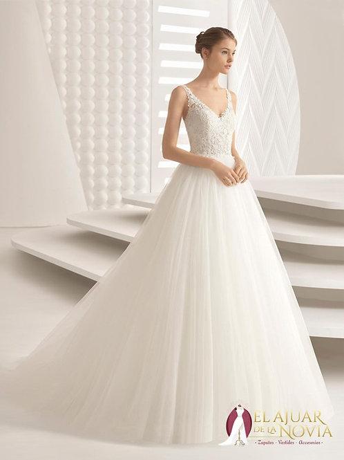 Vestido de novia Corte A Alquiler