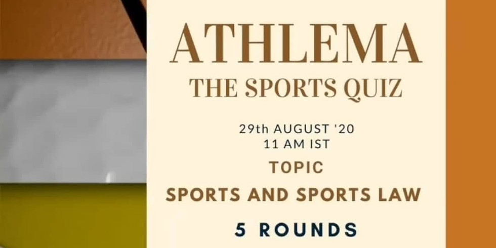"""""""ATHLEMA"""" The Sports Quiz"""