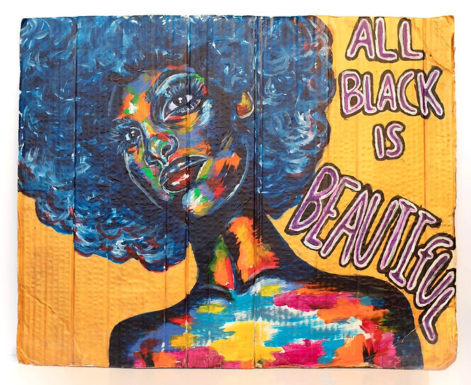 All Black Is Beautiful by Monie Love