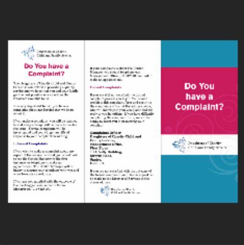 Do You Have A Complaint