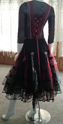 d65c3a052627 Gothic steampunk event skirt gypsy romany shabby dress