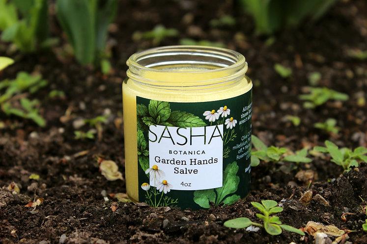 Garden Hands Salve - 4oz