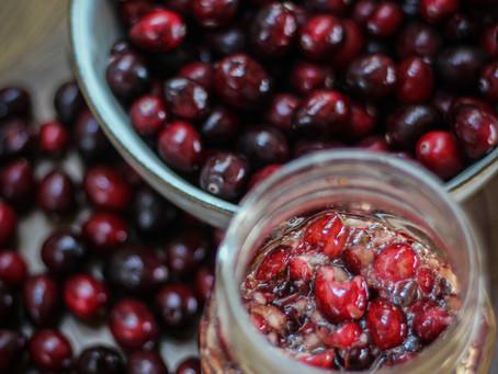 Honey Fermented Cranberries