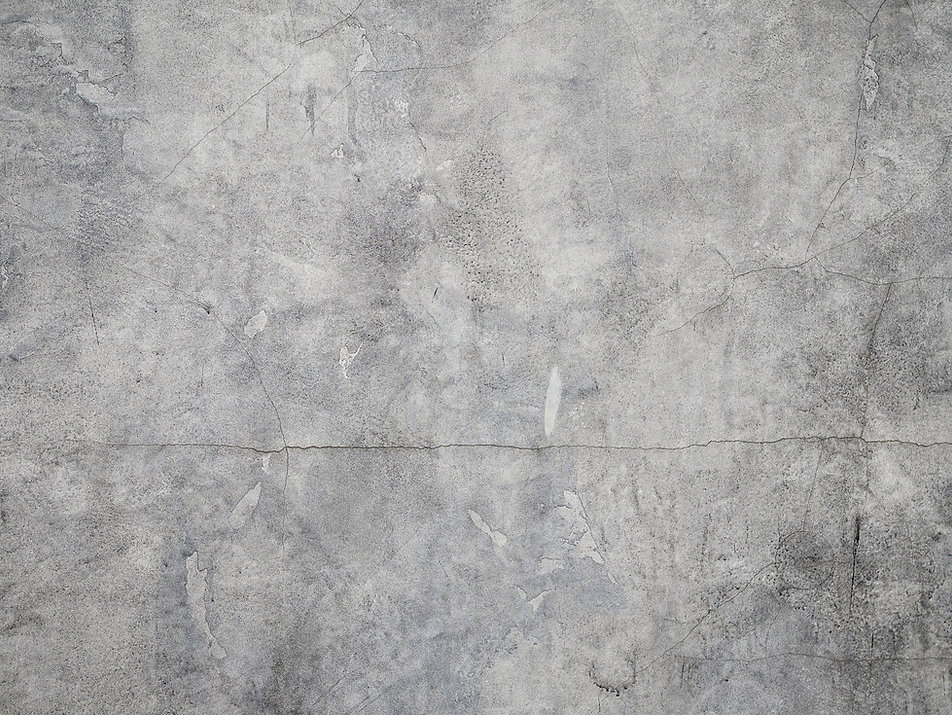 Muro de cimento rachado