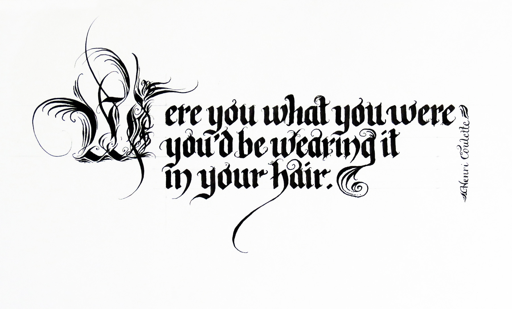 Were You What You Wear