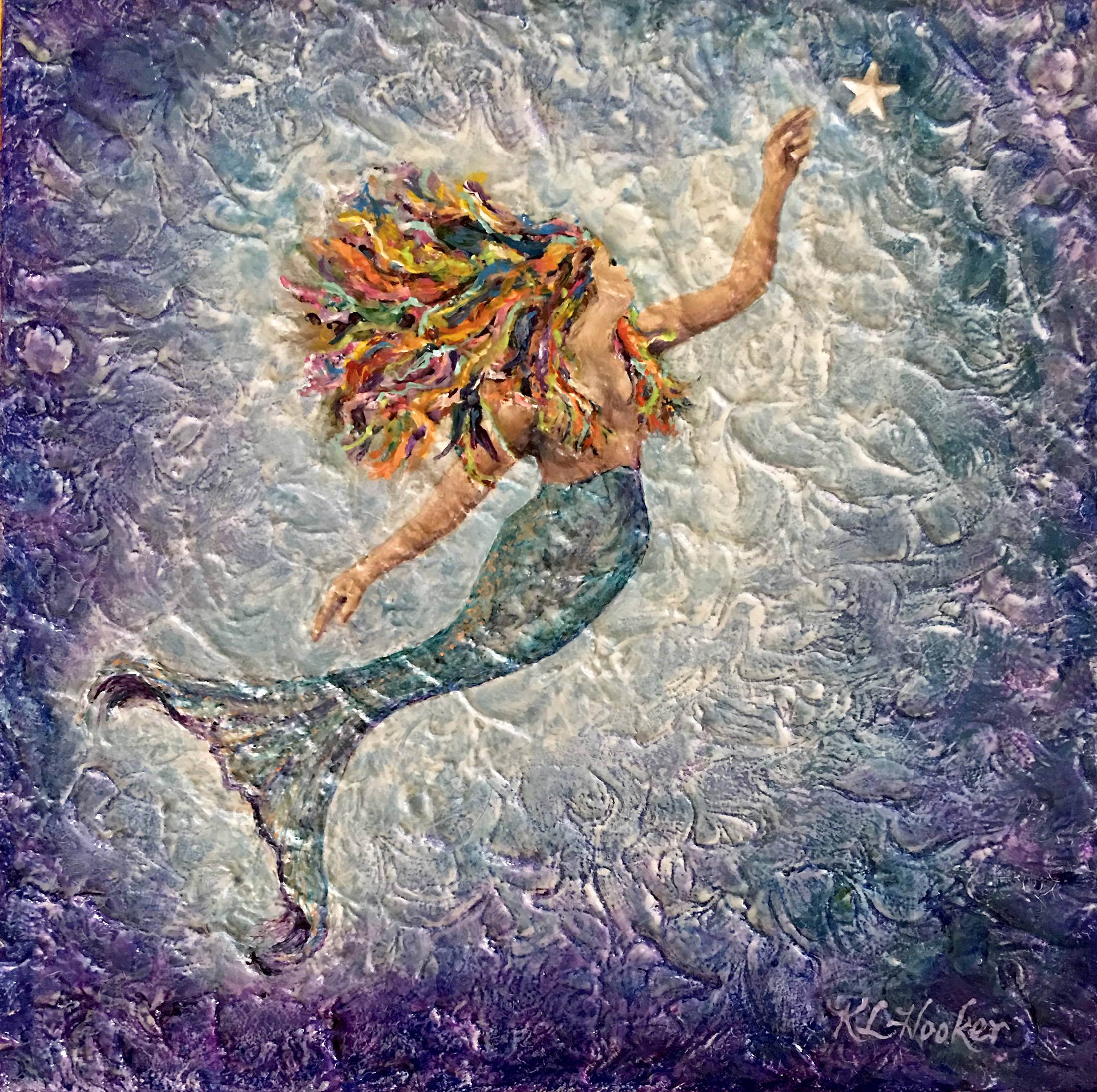 Mermaid Reaching