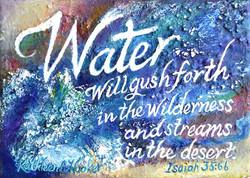 Isaiah Scripture-Water