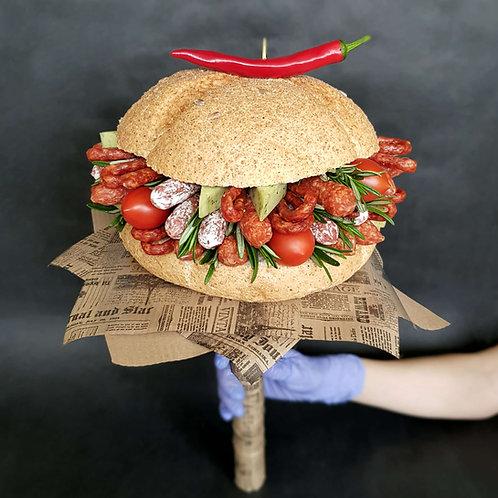 съедобный букет бургер