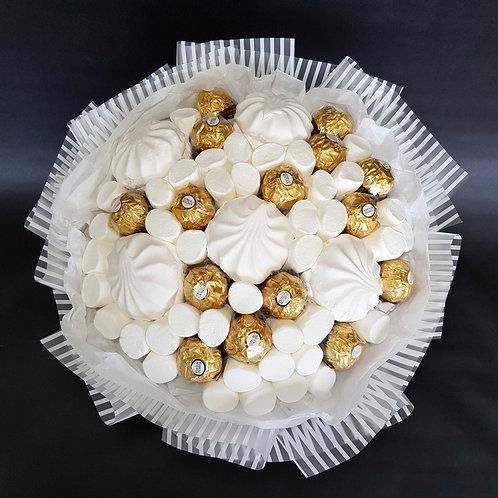 букет из зефира маршмеллоу конфет