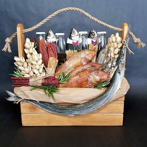 пивной набор с рыбой